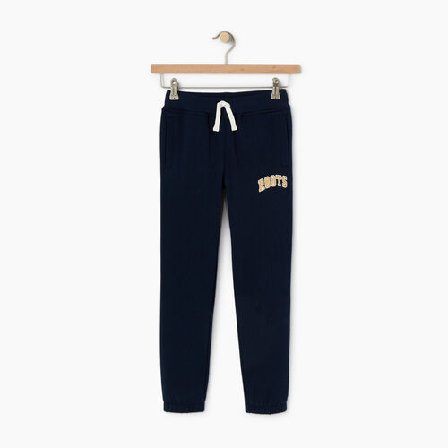 Roots-Kids Categories-Boys Roots Varsity Sweatpant-Navy Blazer-A