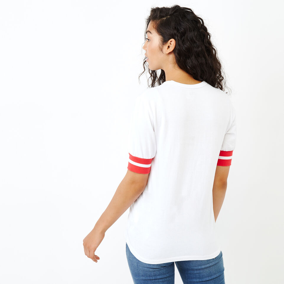 Roots-New For January Women-Vanness T-shirt-Crisp White-D