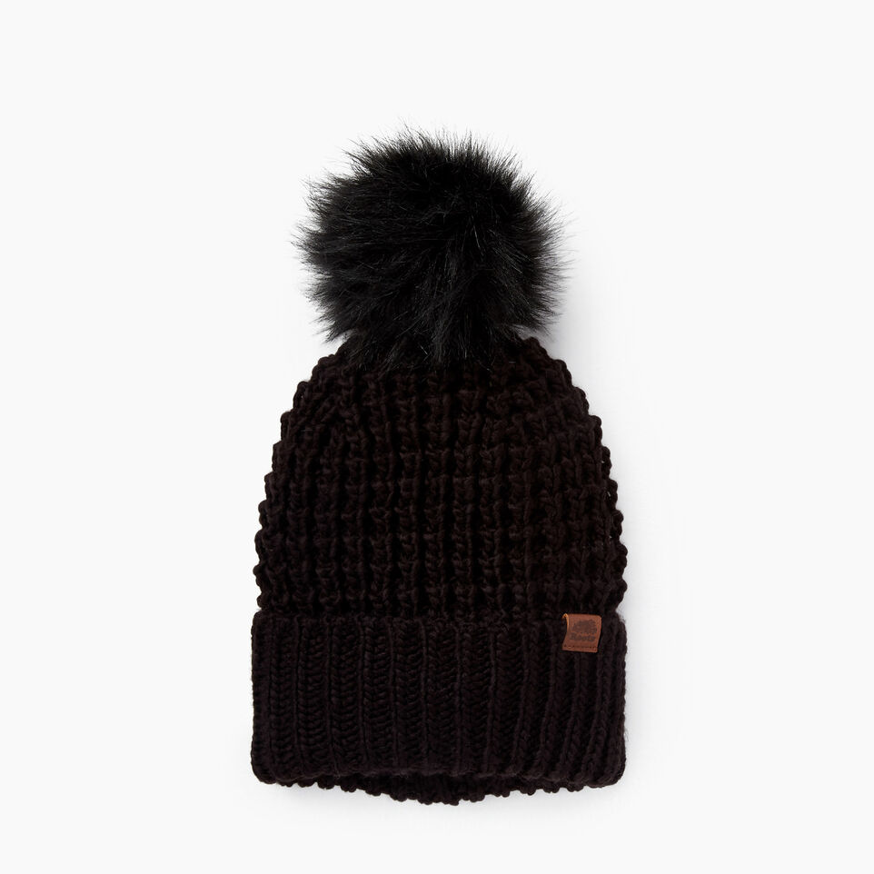Roots-Olivia Faux Fur Pom Pom Toque