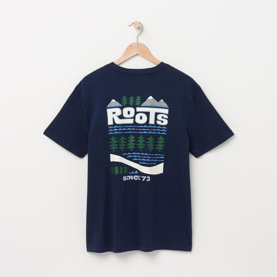 Roots-undefined-Mens Pacific Scenery T-shirt-undefined-B