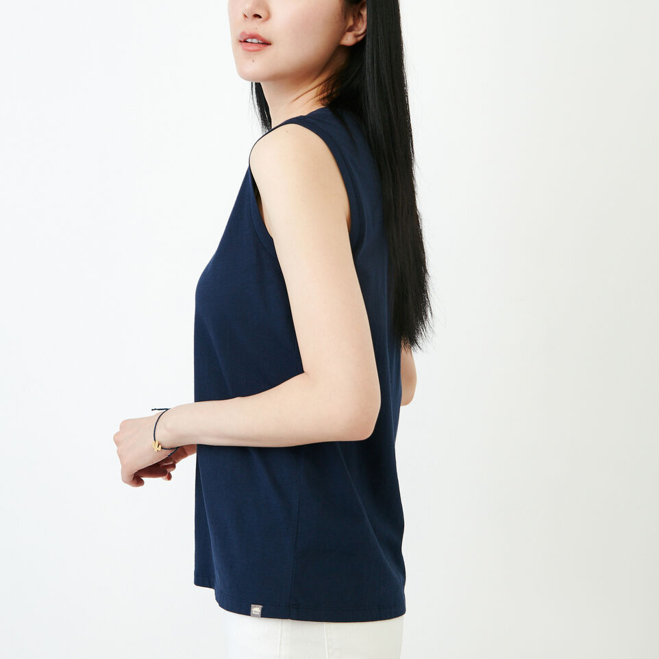 Roots-Women Our Favourite New Arrivals-Essential Tank-Navy Blazer-C