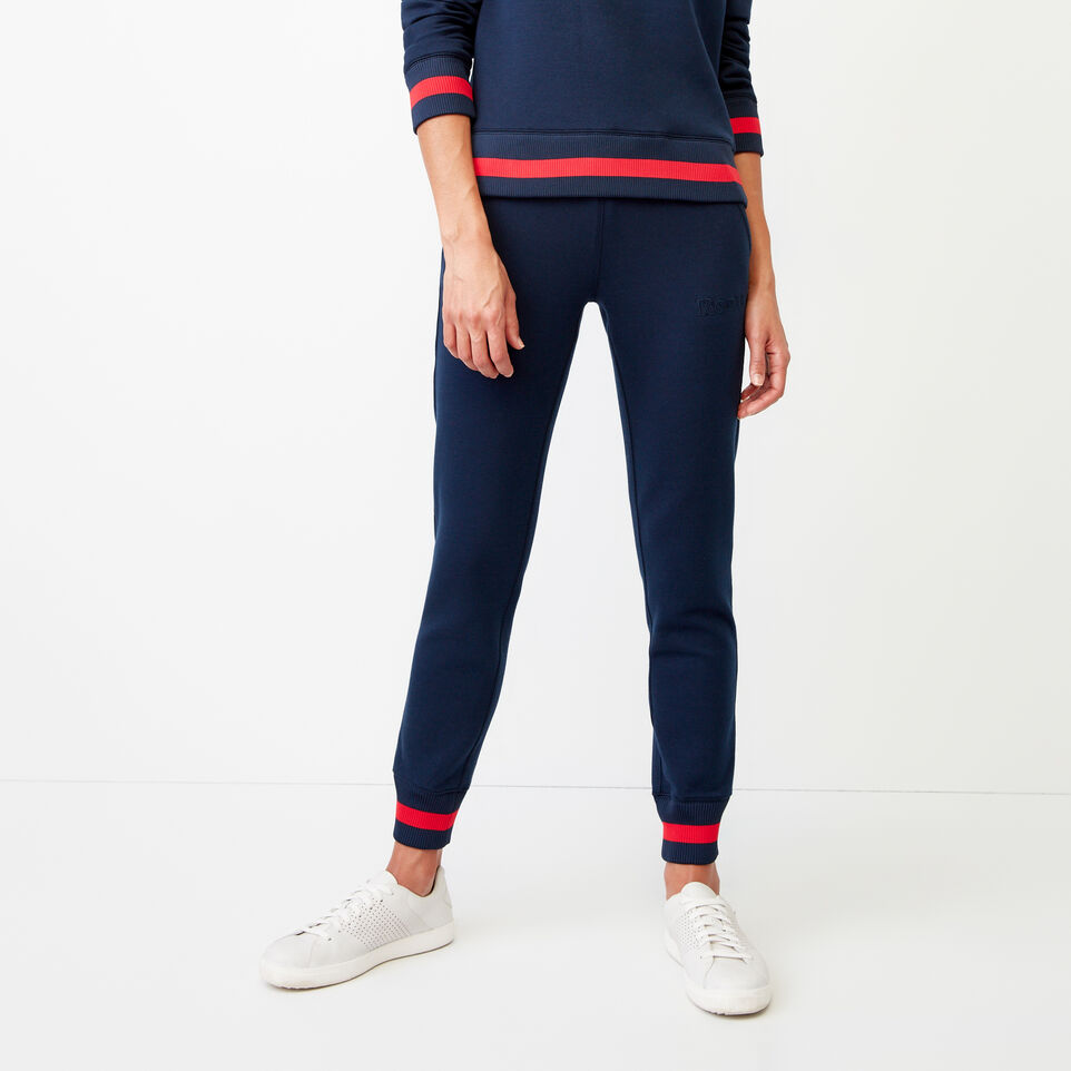 Roots-Women Our Favourite New Arrivals-Mahone Sweatpant-Navy Blazer-A