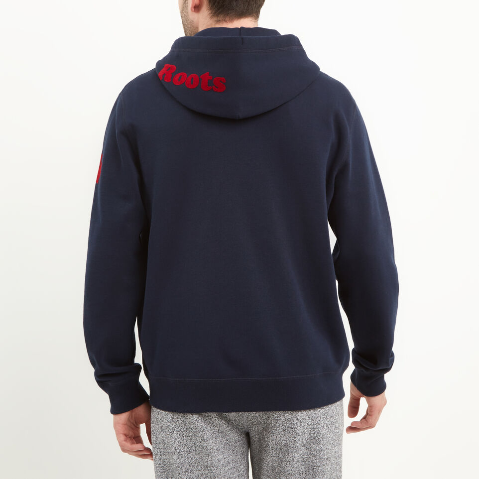 Roots-undefined-Mens Cooper Canada Zip Hoody-undefined-D