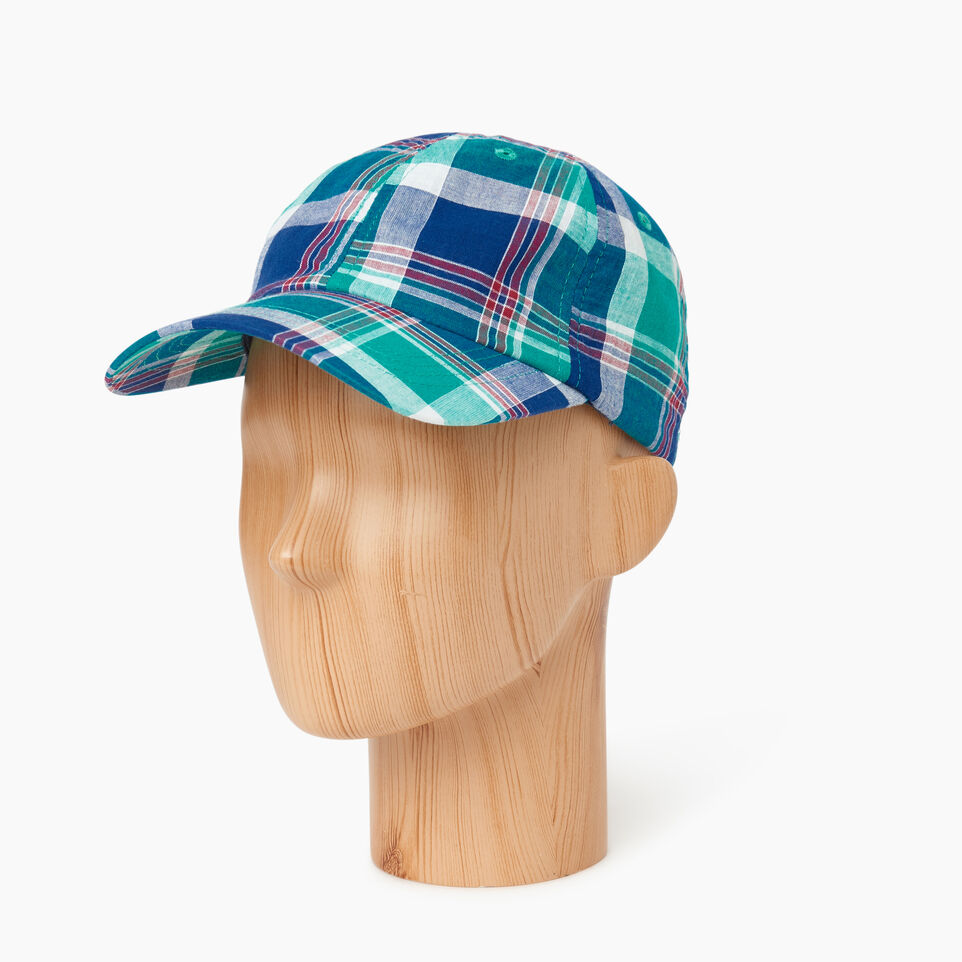 Roots-Men Our Favourite New Arrivals-Madras Baseball Cap-Multi Plaid-B