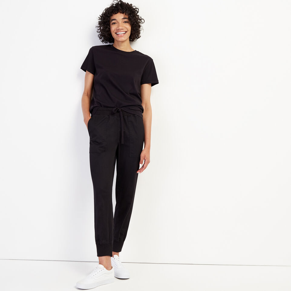 Roots-New For September Journey Collection-Journey Jogger-Black-B