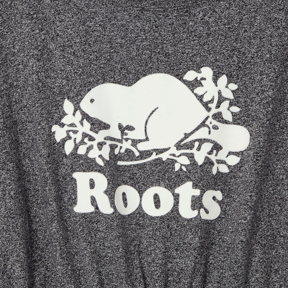 Roots-Kids New Arrivals-Girls T-shirt Dress-Salt & Pepper-D