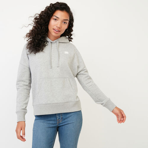 Roots-Women Categories-Junction Hoody-Grey Mix-A