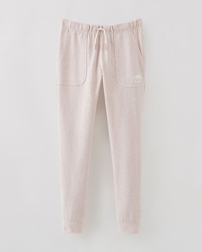 Roots-Sweats Girls-Girls Woodland Slim Jogger-Pale Mauve Mix-A