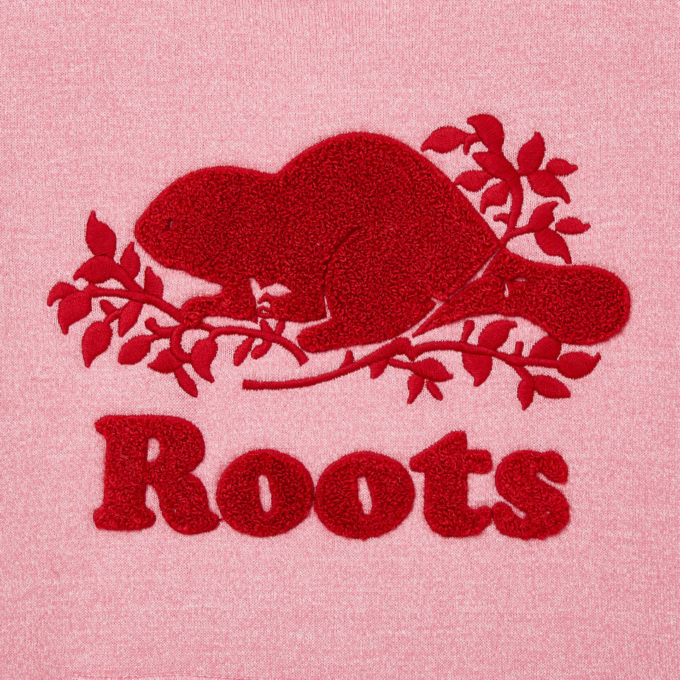 Roots-New For November Kids-Girls Roots Cabin Cozy Dress-Cashmere Rose Pepper-D