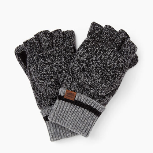 Roots-Gifts Cabin Comfort-Roots Cabin Flip Mitt-Black Mix-A