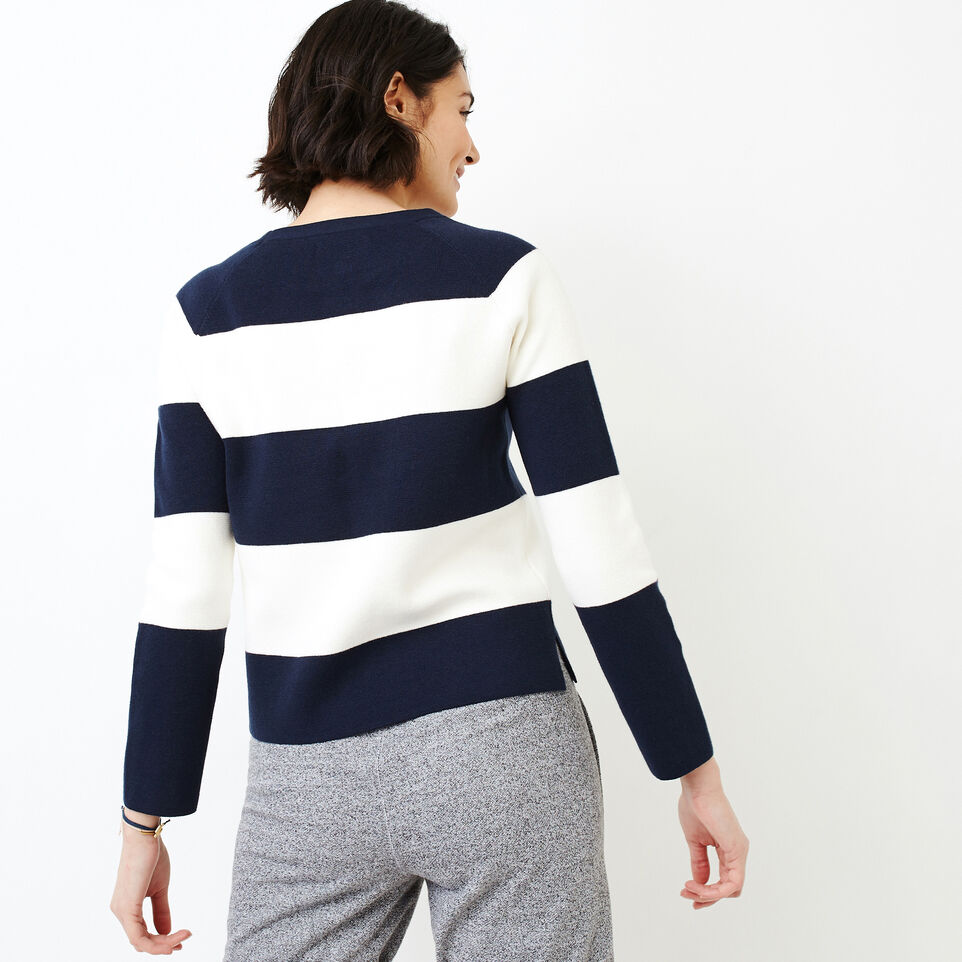 Roots-Women Categories-Hillsborough Sweater-Navy Blazer-D