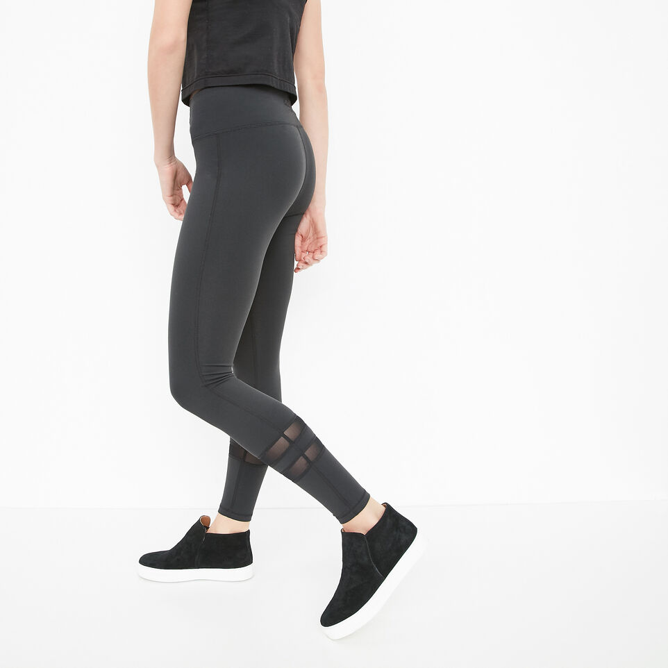 Roots-undefined-High Waist Mesh Panel Legging-undefined-B