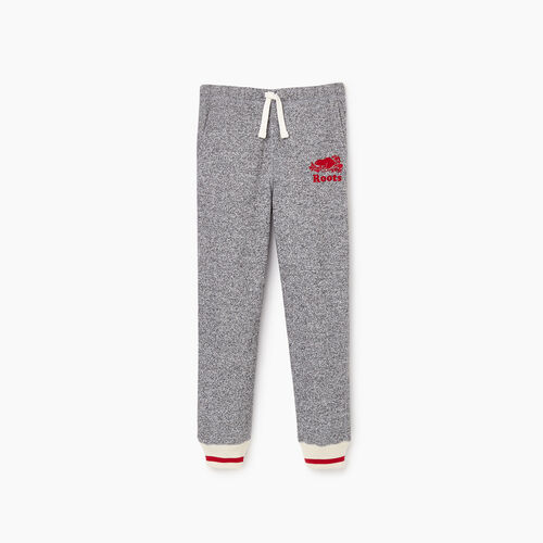 Roots-New For October Kids-Boys Roots Cabin Sweatpant-Salt & Pepper-A