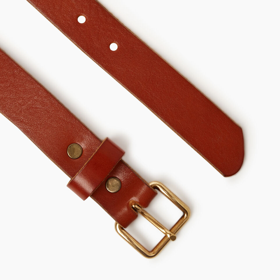 Roots-Women Categories-Roots Unisex Belt-Cognac-B