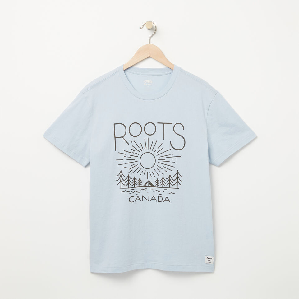 Roots-undefined-Mens Good Lines T-shirt-undefined-A