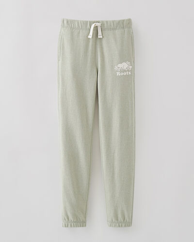 Roots-Sweats Girls-Girls Original Roots Sweatpant-Desert Sage Pepper-A