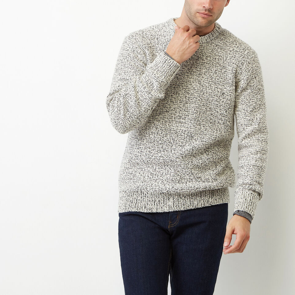 Roots-Winter Sale Men-Snowy Fox Crew Sweater-Snowy Fox-A