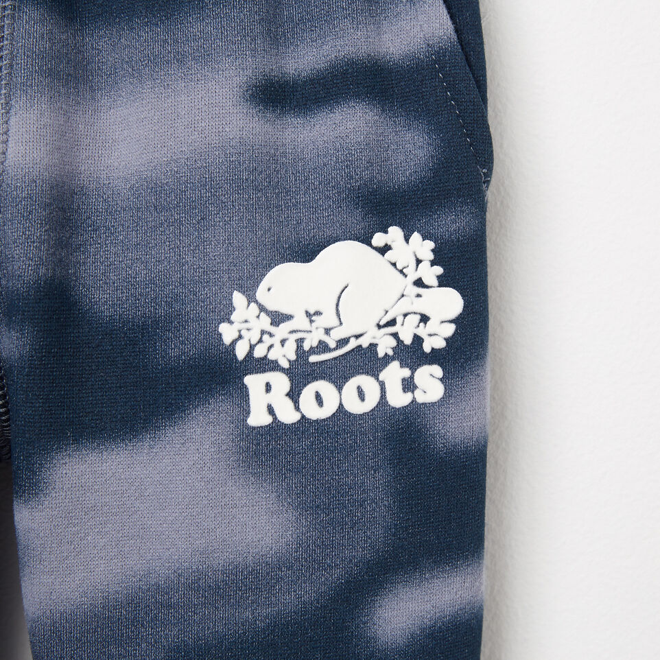 Roots-undefined-Baby Blurred Camo Slim Sweatpant-undefined-C