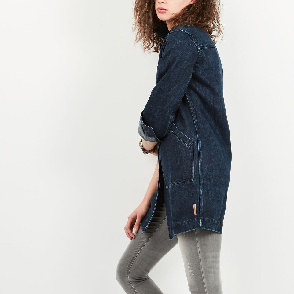 Roots-undefined-Denim Drafting Coat-undefined-C