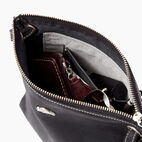 Roots-Leather  Handcrafted By Us Handbags-Festival Bag Tribe-Jet Black-D