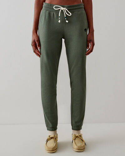 Roots-Sweats Sweatsuit Sets-Camp Sweatpant-Pine Green-A