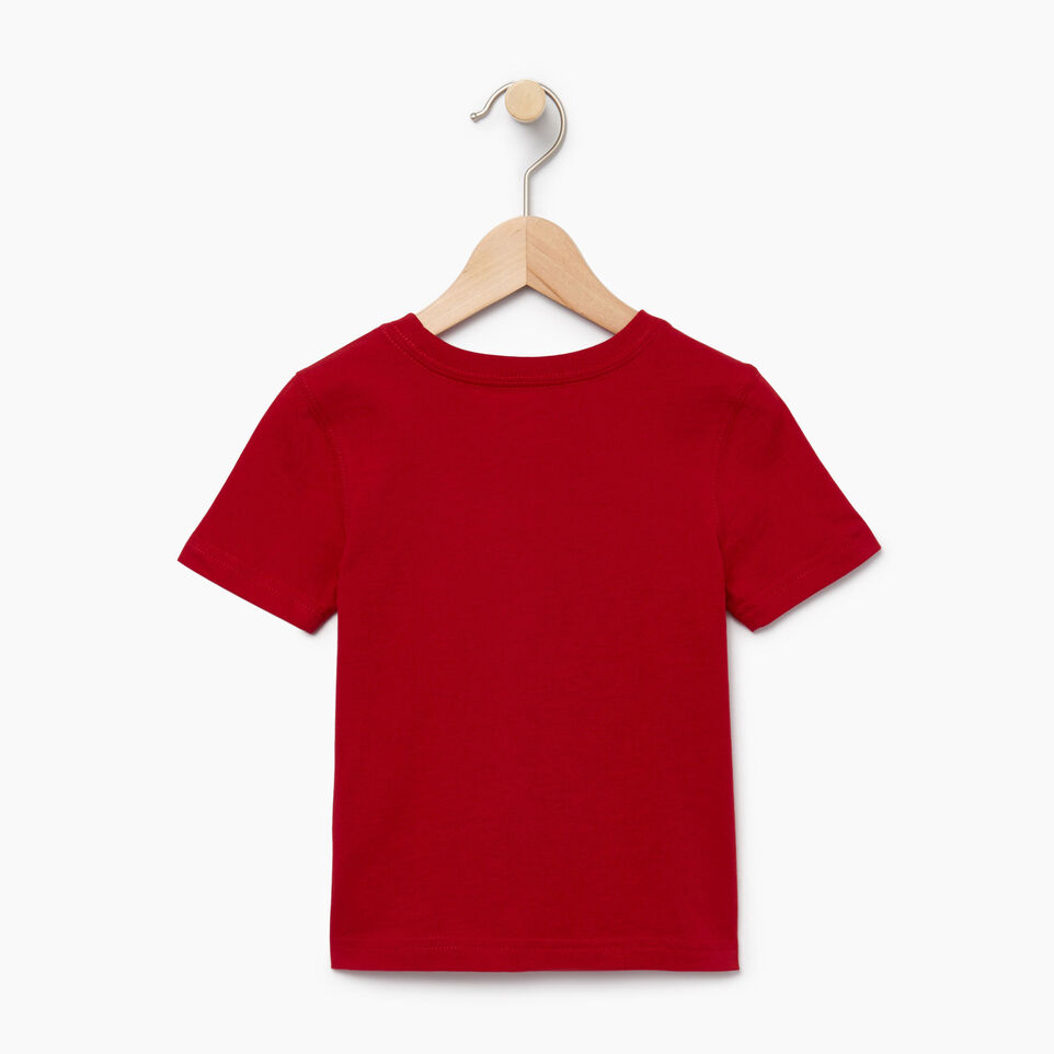 Roots-Kids Our Favourite New Arrivals-Toddler Canada T-shirt-Sage Red-B