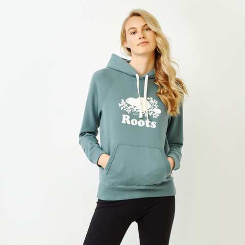 Roots-Women Categories-Original Kanga Hoody-North Atlantic-A