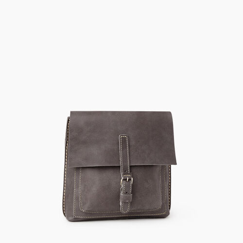 Roots-Women Backpacks-City Raiders Pack Tribe-Charcoal-A