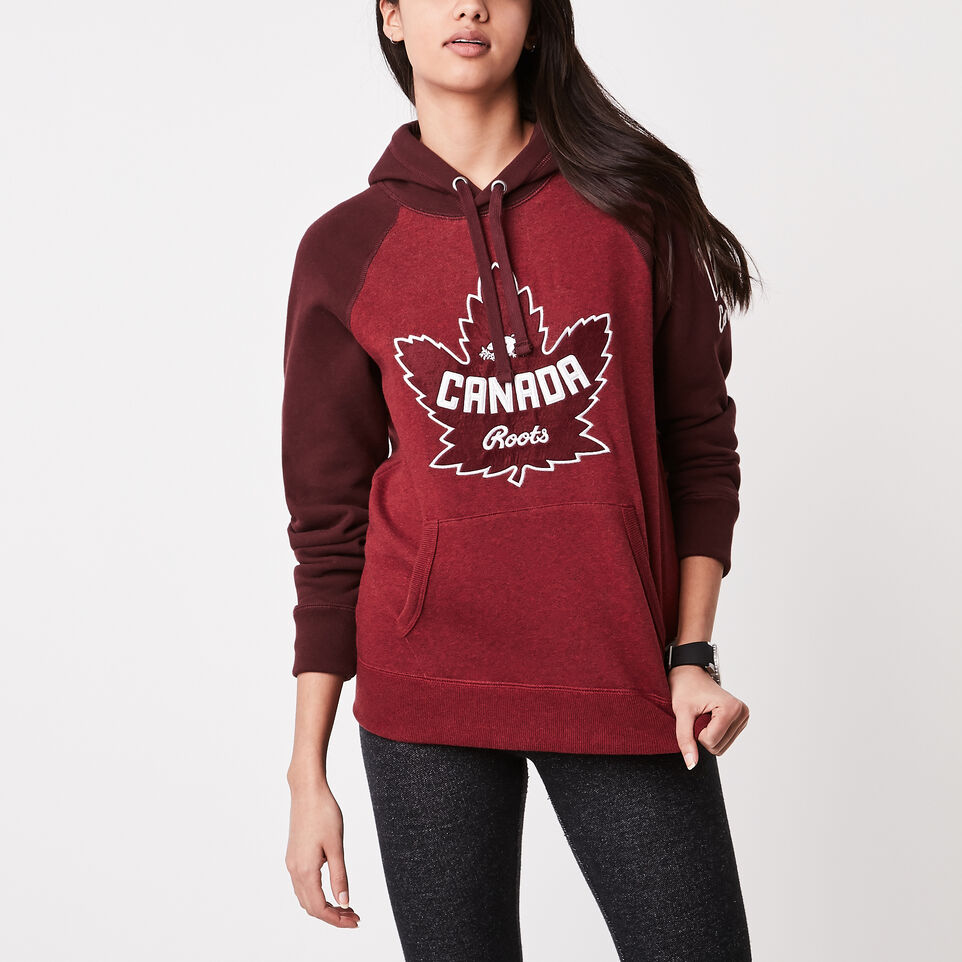 Roots-undefined-Womens Heritage Canada Kanga Hoody-undefined-A