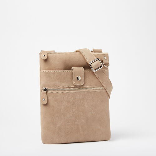 Roots-Leather Handbags-Small Venetian Tribe-Sand-A