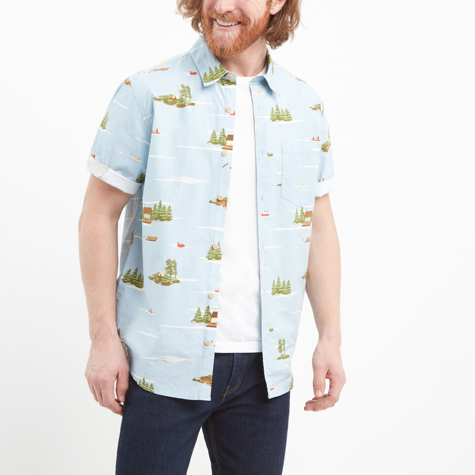 Roots-undefined-Lakeside Short Sleeve Shirt-undefined-A