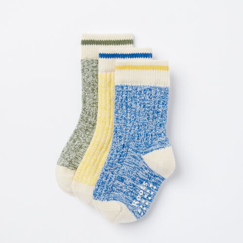 Roots-Kids Toddler Boys-Toddler Cabin Sock 3 Pack-Olympus Blue-A