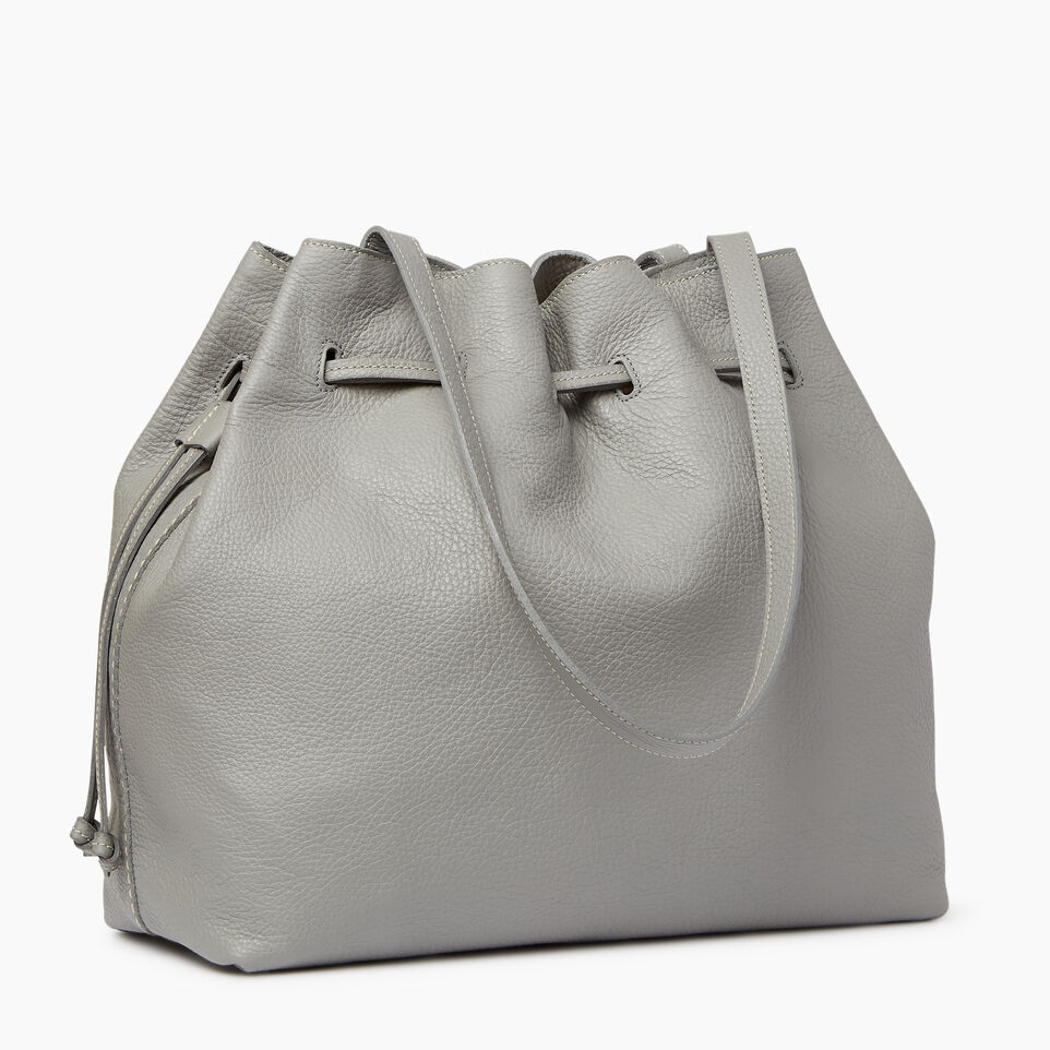 Roots-Leather  Handcrafted By Us Categories-Sherbrooke Tote-Silverstone-C