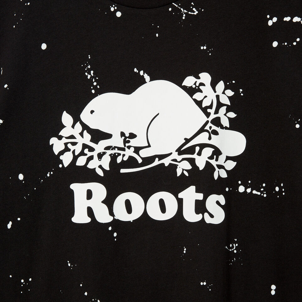 Roots-undefined-Mens Splatter Cooper T-shirt-undefined-D