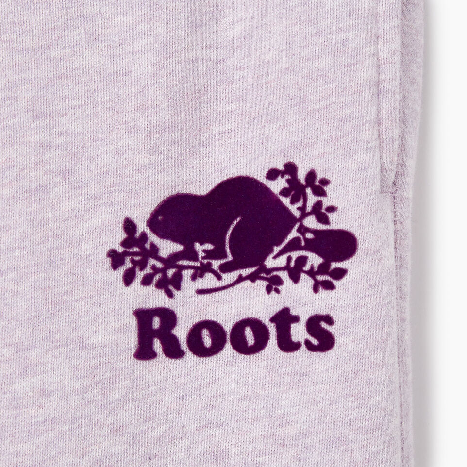 Roots-Kids Our Favourite New Arrivals-Girls Original Roots Sweatpant-Lupine Mix-D