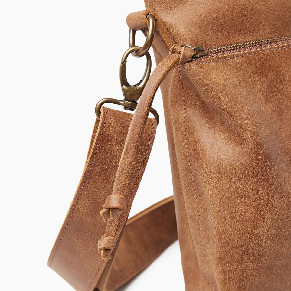 Roots-Leather New Arrivals-Cargo Bag Tribe-Natural-E