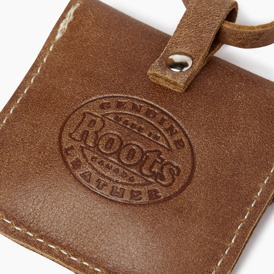 Roots-Leather  Handcrafted By Us Collections-Leather Tie Pouch-Natural-C