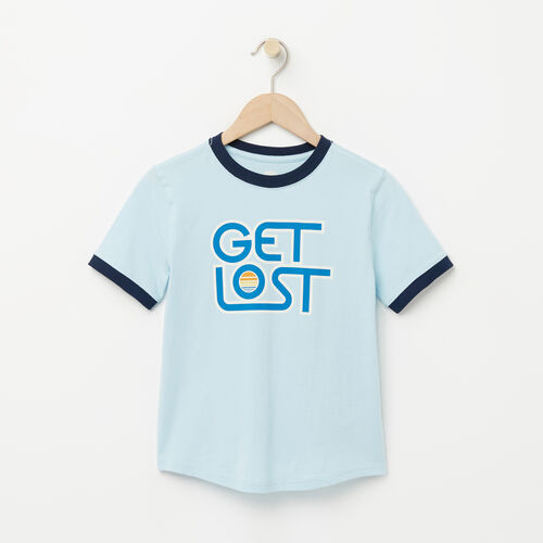Roots-Sale Boys-Boys Vintage Ringer T-shirt-Corydalis Blue-A