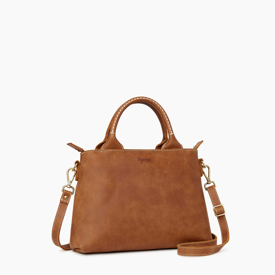 Roots-Leather Our Favourite New Arrivals-City Mont Royal Bag-Natural-C