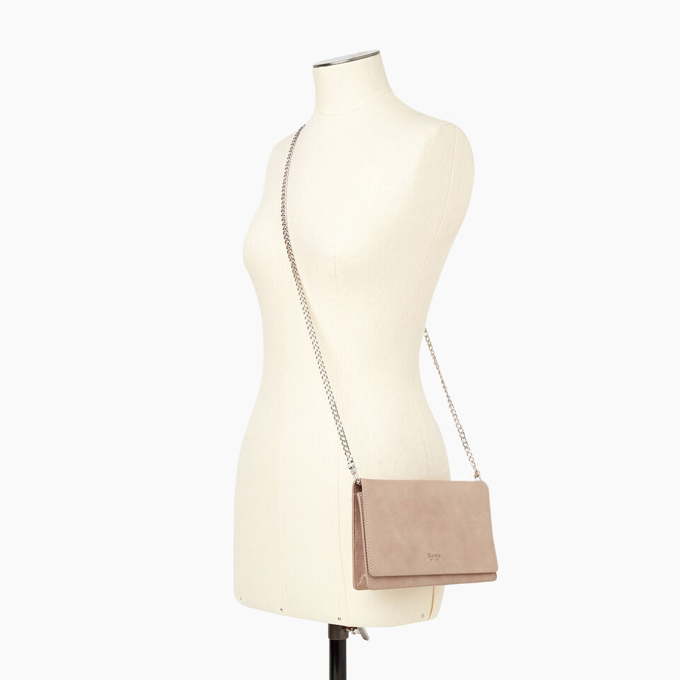 Roots-Women Categories-Sussex Wallet Bag-Champagne-B