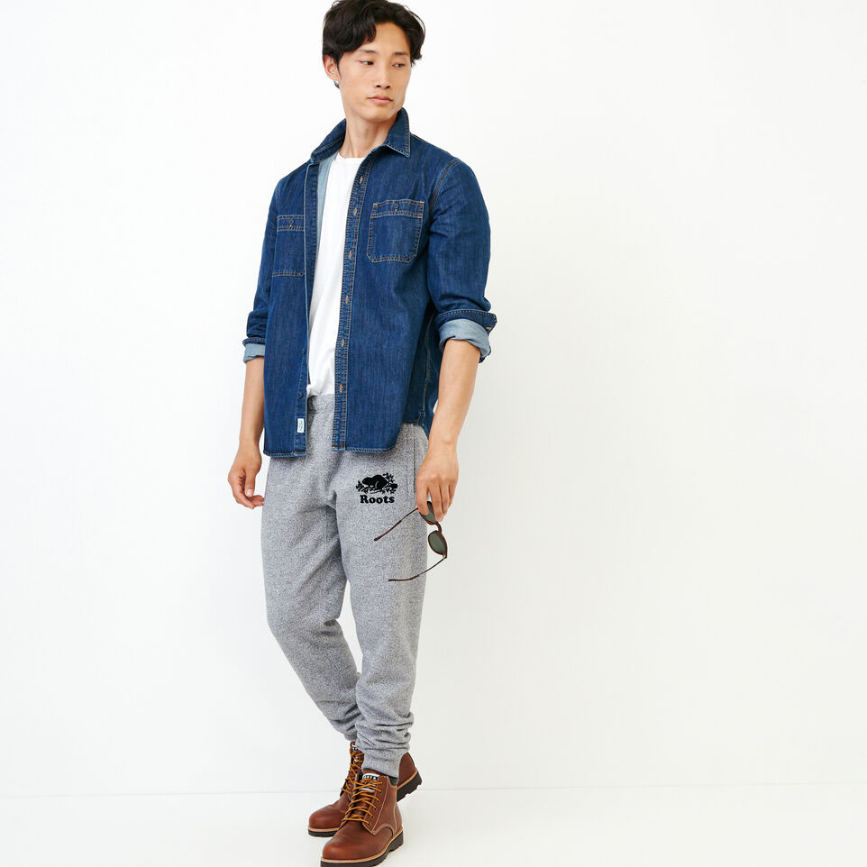 Roots-Men Our Favourite New Arrivals-Denim Work Shirt-Vintage Wash-B
