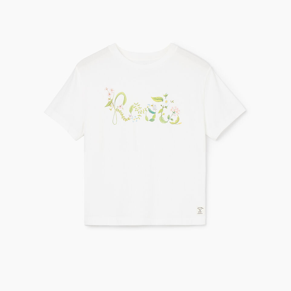 Roots-undefined-Womens Floral Garden Organic T-shirt-undefined-A