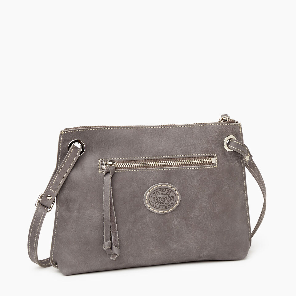 Roots-Leather New Arrivals-Edie Bag-Charcoal-C