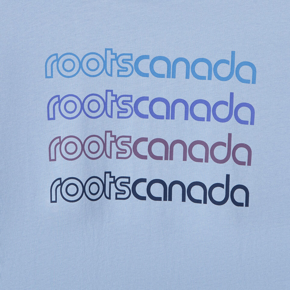 Roots-New For March Daily Offer-Womens Burnaby T-shirt-Bonita Blue-D