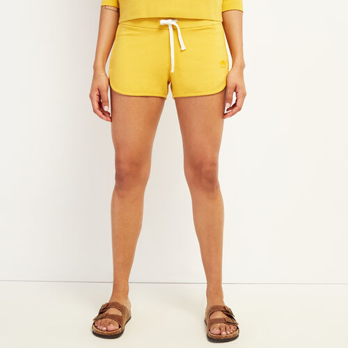 Roots-Women Clothing-Kawartha Running Short-Medallion-A