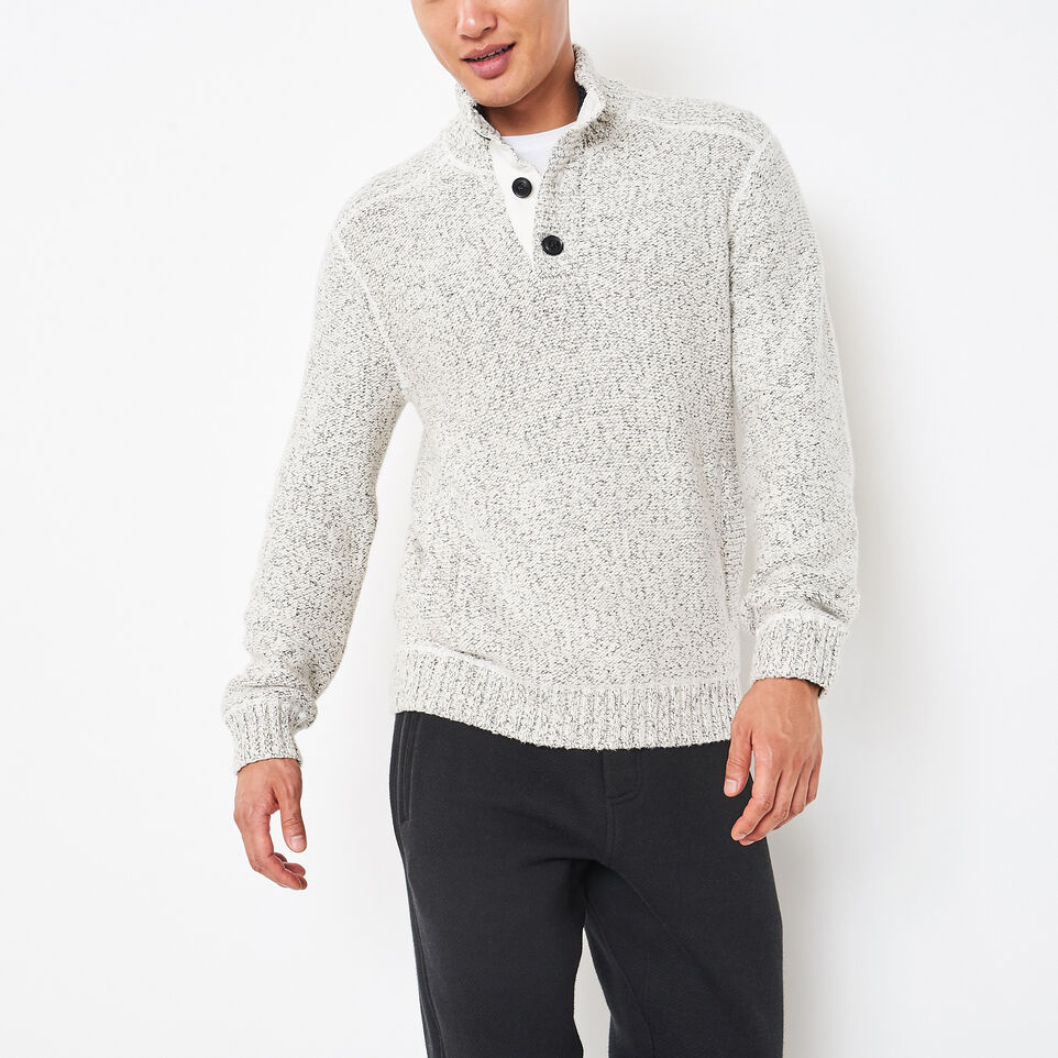 Roots-undefined-Snowy Fox Buttoned Mock-undefined-A