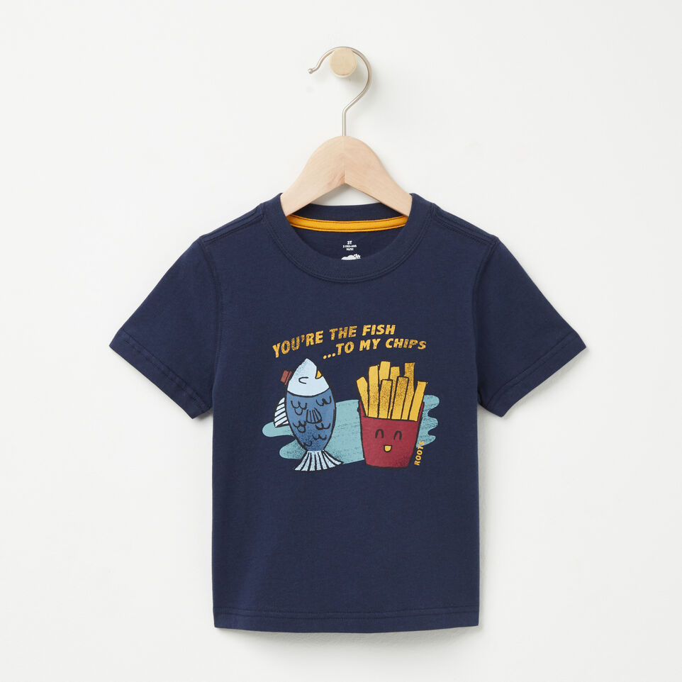 Roots-undefined-Toddler Fish N Chips T-shirt-undefined-A