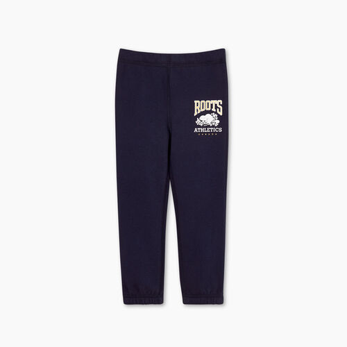 Roots-Kids Bottoms-Toddler RBA Sweatpant-Navy Blazer-A