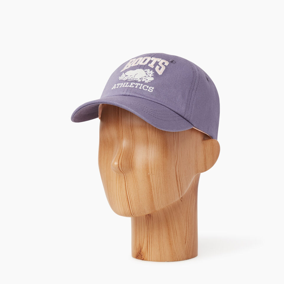 Roots-Kids Our Favourite New Arrivals-Kids RBA Baseball Cap-Purple-B