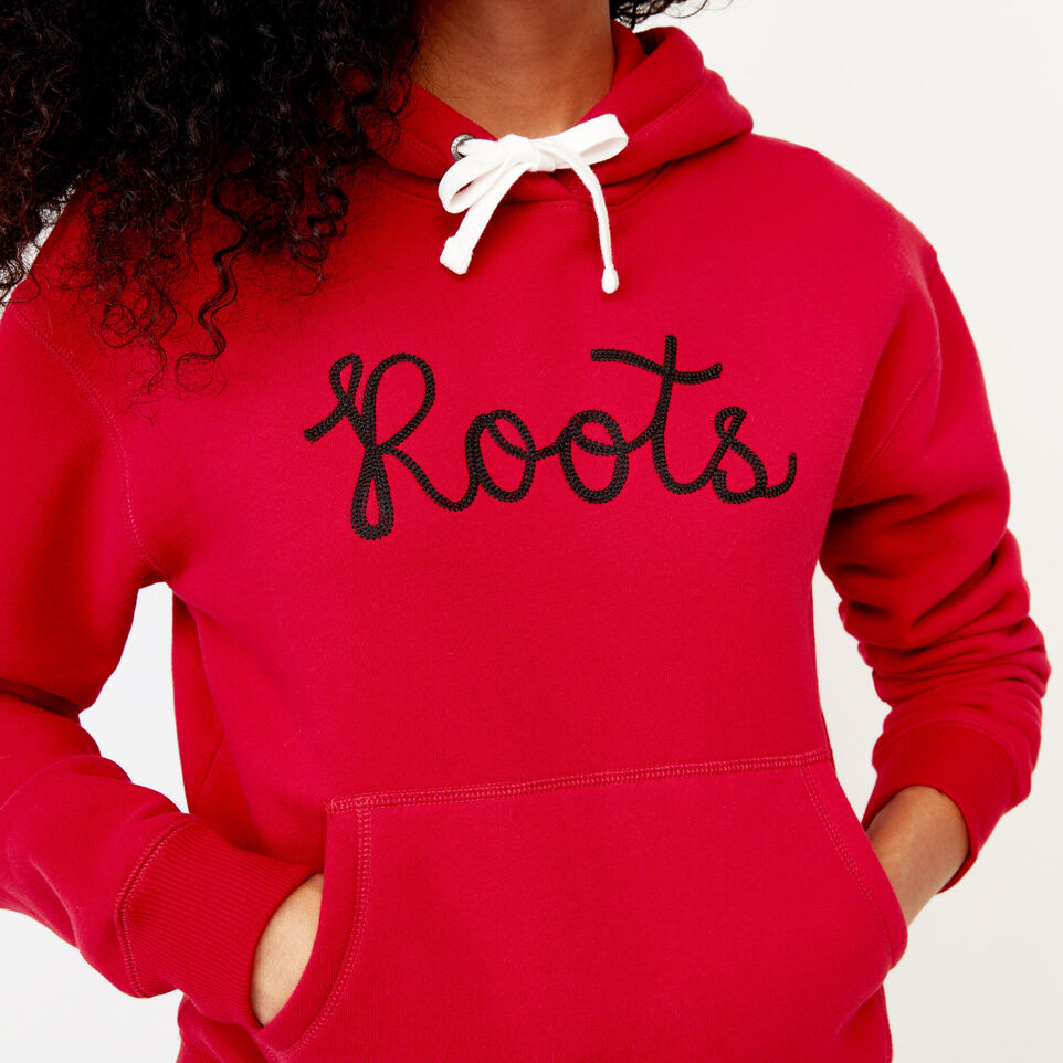 Roots-Clearance Women-Mabou Hoody-Cabin Red-E